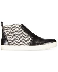 Circus by Sam Edelman | Black Jadyn Ankle Slip-on Sneakers | Lyst