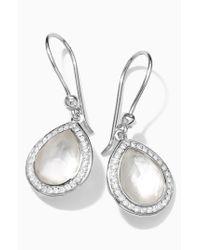 Ippolita - Metallic 'stella' Teardrop Earrings - Lyst