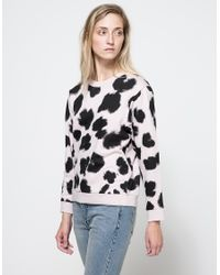Cheap Monday - Pink Shaw Leo Sweat - Lyst