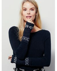 Free People - Black Wtf Rosey Cuff - Lyst