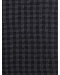 Marni - Gray Checked Wool Scarf - Lyst