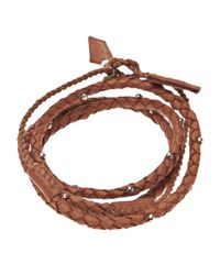 Maria Rudman | Brown Lasso Petra Bracelet for Men | Lyst