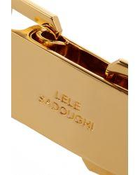 Lele Sadoughi - Metallic Gold-Plated Choker - Lyst