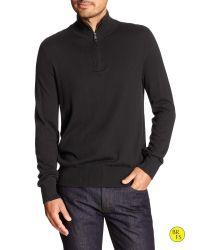 Banana Republic | Black Factory Mock-neck Pullover for Men | Lyst