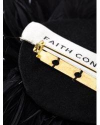 Faith Connexion - Black Pom Pom Brooch - Lyst