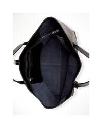 Ralph Lauren - Black Crawley Leather Tote - Lyst