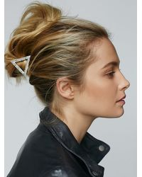Free People - Metallic Womens It Girl Hair Clip - Lyst