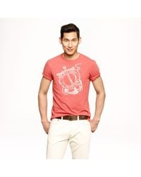 J.Crew Red Hook Graphic Tee for men