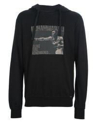 Dolce & Gabbana Black Muhammad Ali Hoodie for men