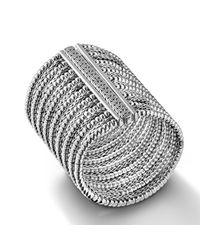 John Hardy - Metallic Extra-Wide Multi-Row Bracelet - Lyst