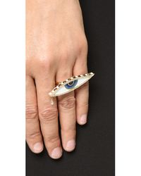 Holly Dyment Multicolor Teary Eyed Enamel Ring - Multi
