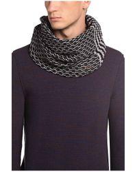 BOSS Orange   Black 'kaven'   Virgin Wool Cotton Scarf for Men   Lyst