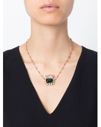 Mawi | Green Gemstone Pendant Necklace | Lyst