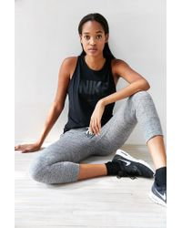 Nike Black Tomboy Graphic Tank Top