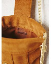 Free People - Brown Womens Provence Suede Crossbody - Lyst
