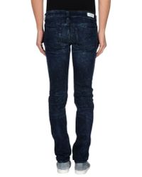 Mauro Grifoni | Blue Denim Trousers for Men | Lyst