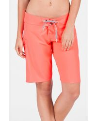 Volcom | Pink 'simply Solid 11' Board Shorts | Lyst