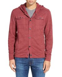 Howe | Red 'warrior' Military Hoodie for Men | Lyst