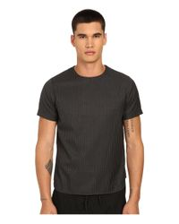 Private Stock Gray The Parker T-shirt for men