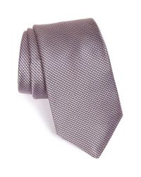 Michael Kors - Pink Microcheck Silk Tie for Men - Lyst
