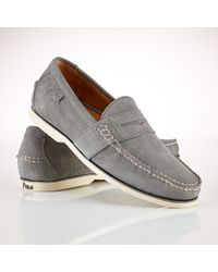 Polo Ralph Lauren - Gray Blackley Penny Loafer for Men - Lyst