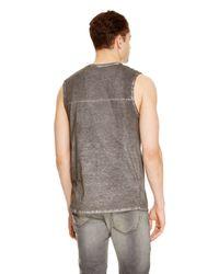 DKNY - Black Jeans Crew Neck Muscle Tank for Men - Lyst