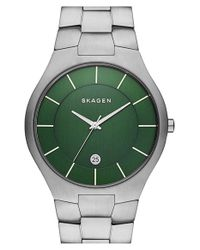 Skagen | Metallic 'grenen' Bracelet Watch | Lyst