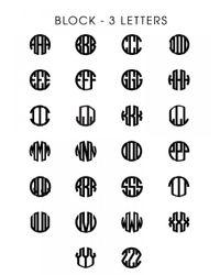 BaubleBar - Metallic Metal Block Letter Monogram - Lyst