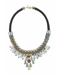 TOPSHOP | Multicolor Statement Pretty Collar Necklace | Lyst