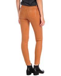 Henry & Belle | Orange Coated Super Skinny Ankle | Lyst