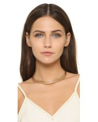 Madewell - Metallic Sunplay Choker Necklace - Lyst
