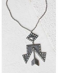 Free People | Metallic 2bandits Womens Rhinestone Cowgirl Pendant | Lyst