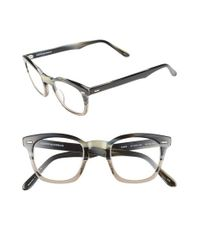 Corinne Mccormack - Gray 'annie' 46mm Reading Glasses - Lyst