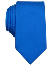 Perry Ellis - Blue Aragon Solid Slim Tie for Men - Lyst