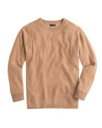 J.Crew - Gray Collection Cashmere Seamed Sweater - Lyst