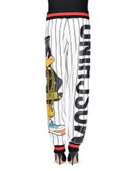 Moschino - White Casual Pants - Lyst