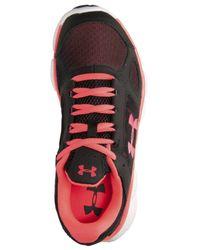 Under Armour - Black Women's Micro G Assert V Running Sneakers From Finish Line - Lyst