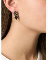 Shaun Leane - Metallic 'bound' Earrings - Lyst