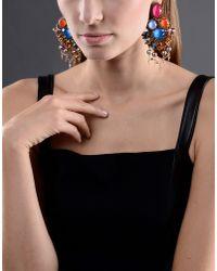 Vickisarge - Metallic Earrings - Lyst