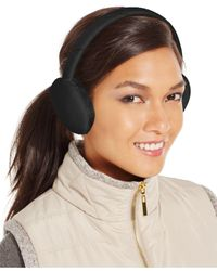 Style & Co. Black Style&co. Fleece Earmuffs, Only At Macy's