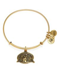 ALEX AND ANI Metallic Guardian Of Healing Expandable Wire Bracelet