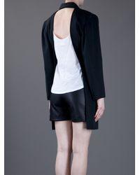 Comme des Garçons Black Backless Jacket