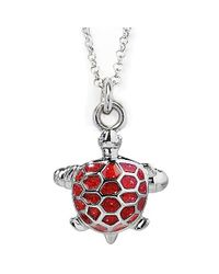 Jan Leslie | Red Turtle Pendant / Charm Necklace | Lyst