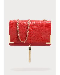 Bebe Red Kyla Crossbody Bag
