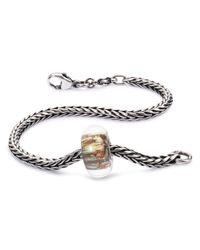 Trollbeads | Gray Lace Invitation Bracelet | Lyst