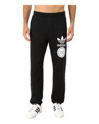 Adidas Originals | Black Street Graphic Sweatpants for Men | Lyst