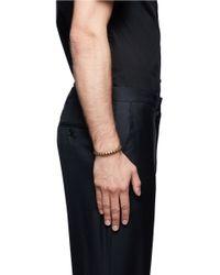 Eddie Borgo - Metallic Pyramid Cuff for Men - Lyst