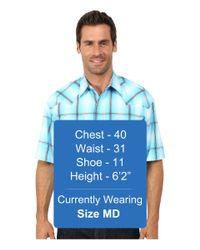 Stetson | Blue Smokey Ombre Plaid Flat Weave W/ Satin for Men | Lyst