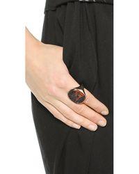Vivienne Westwood Gerlinde Ring - Mahogany/Pink Gold