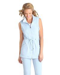 UGG Blue Antonia Sleeveless Jacket
